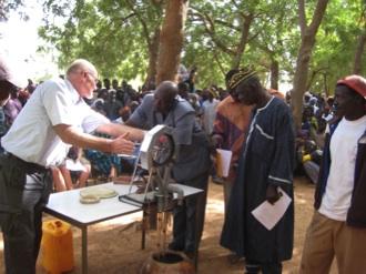 Demonstratie Touwpomp