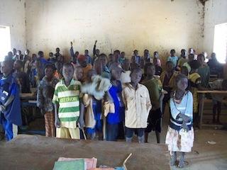 Schoolklas in Zimtanga