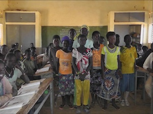 De ondersteunde kinderen van Kourpelé