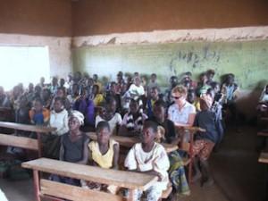 schoolklas in Bayend Foulgou